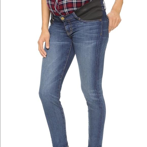 6d294cc347611 Current/Elliott Denim - Current/Elliott 24 Maternity Townie Stiletto Jeans